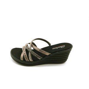 Skechers Rumbler Wave Lassie Slide Sandal 8.5W New